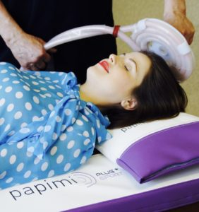 Papimi terapia liečba bolesti migrény vCentre ČTM Dr. Subotića vBratislave, SK